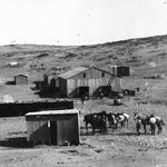 Diamantenabbau in Kolmanskop 1911